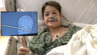 Family thanks God for miracle after boy survives being impaled